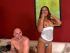 Watch the nice-looking porn with Jmac and Layla Summers. Man makes this cute Latina girlie naked previous to starting to stuff bawdy cleft of hers by his penis. Watch the end of this story.