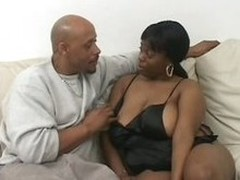 BBW Ebony Slut Diva Starr Gets Her Pussy Shaved and Fucked Constant