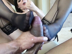 Toni Ribas bangs ultra hot Bobbi Starrs mouth just like mad before anal hole fucking